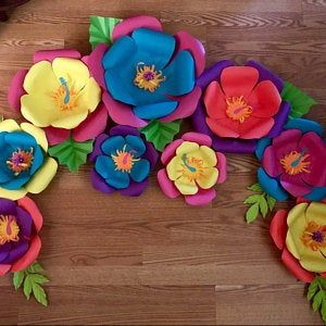 Pdf Petal 101 Paper Flower Template Trace And Cut Files 2
