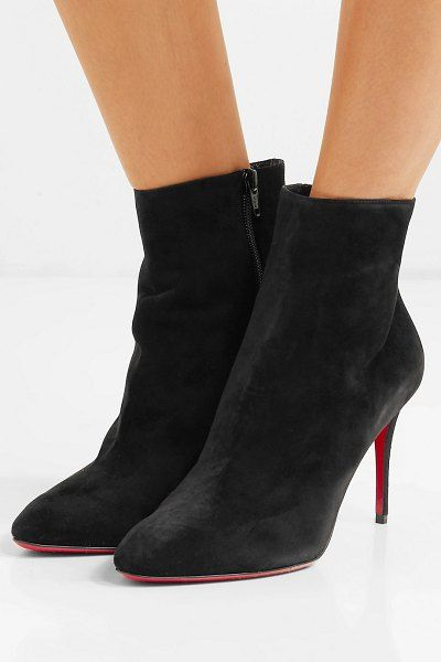 finest selection 88ca2 4ff8b Christian Louboutin eloise 85 suede ankle boots ...