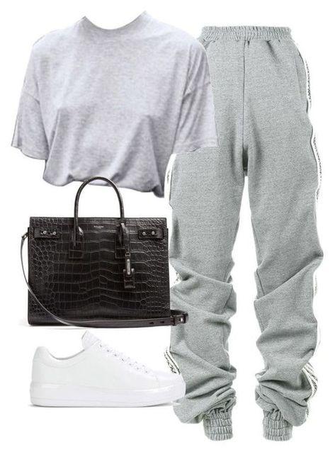 #Baddie Outfits #Grey Beautiful Baddie Outfits