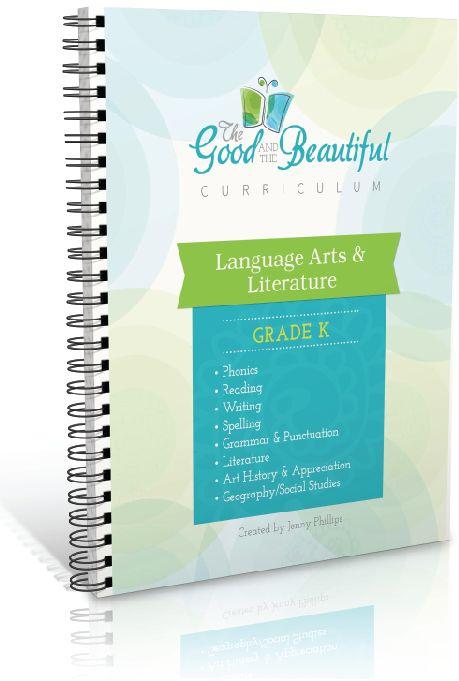 Educational FREEBIES: The Good & the Beautiful Language Arts and Literature…