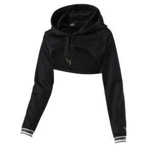 Puma Varsity Cover Up Hooded Sweatshirt Women Puma