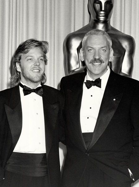 Kiefer & Donald Sutherland