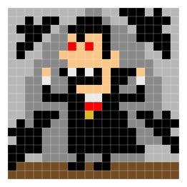 Halloween Pixel Art - How To Draw a Pumpkinhead #pixelart | piksel ...