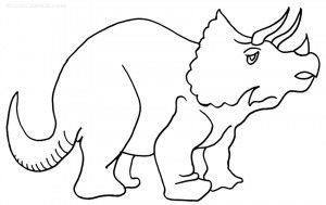 Triceratops Coloring Pages Coloring Pages Animal Coloring Pages