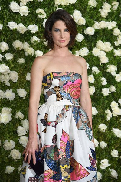 Cobie Smulders attends the 2017 Tony Awards at Radio City Music Hall.