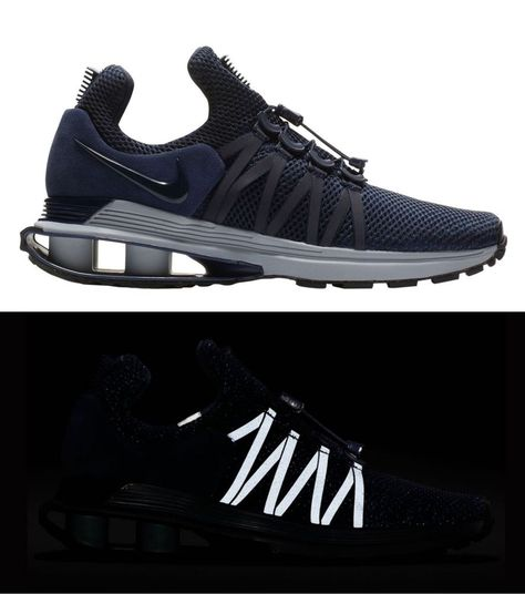 80dfa527ae5 ... amazon new nike shox gravity sneaker mens navy blue gray all sizes  fashion clothing shoes accessories