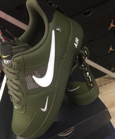 NIKE AIR FORCE 1 ARMY GREEN | Nike air