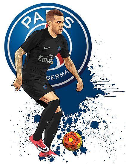 Pin De Alexis Em Paris Futebol Arte Desenho Futebol Jogadores