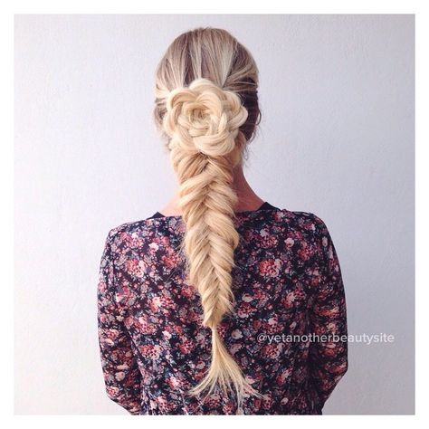 17 Rose Braid Hairstyles for Women