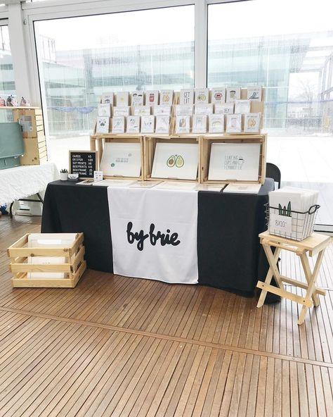 Stationery Booth Display | Craft Show