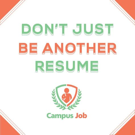 Campus Job---The Best way to find a Job, Internship or campus rep - on campus job resume