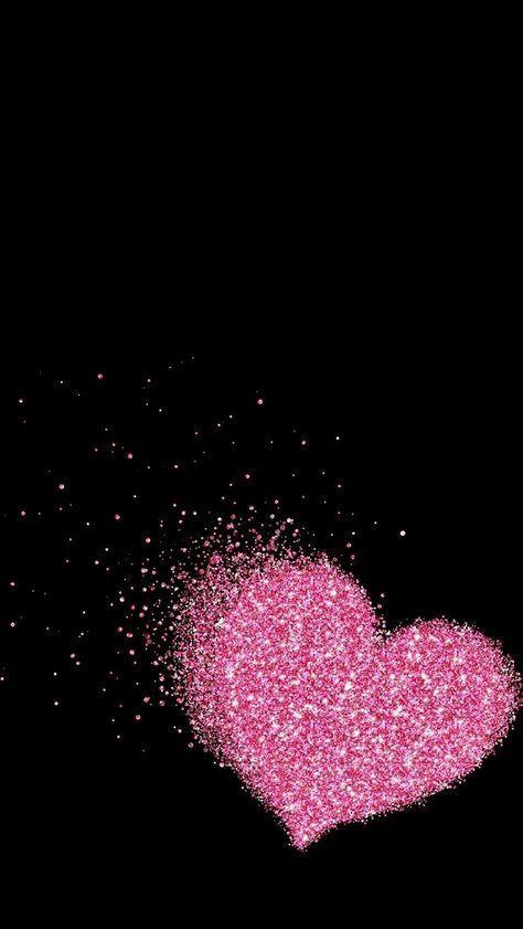 Wall Paper Celular Pink Glitter 18 Super Ideas Valentines Wallpaper Heart Wallpaper Glitter Phone Wallpaper Glitter pink love wallpaper