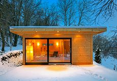 Nice Hingucker auf der Terrasse Jetzt eigenes Saunahaus gestalten http teka sauna de teka sauna home saunahaeuser Saunah user u Au ensaunas