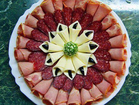 Красивая нарезка на праздничный стол: фруктовая, овощная ...