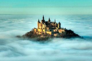 Burg Hohenzollern Schottische Burg Burg Schlosser Deutschland
