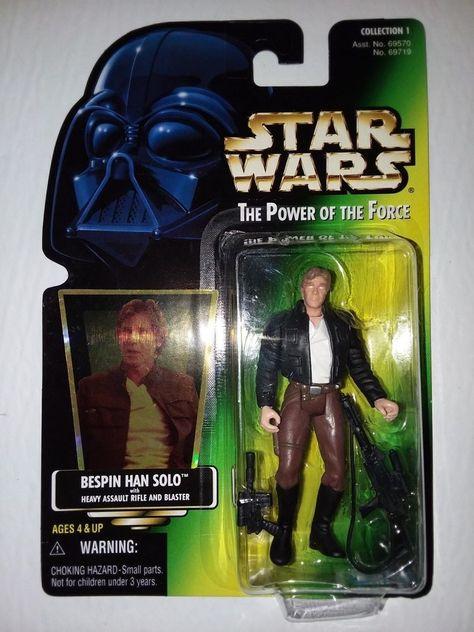Star Wars Bespin Luke Skywalker Kenner Power Of Force Freeze Frame NEW MOC .01