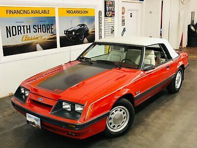 Ebay Advertisement 1986 Ford Mustang Gt Convertible Low Miles See Video 1986 Ford Mustang For Sale Ford Mustang Ford Mustang Gt Mustang Lx