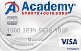 Academy sports credit card bank