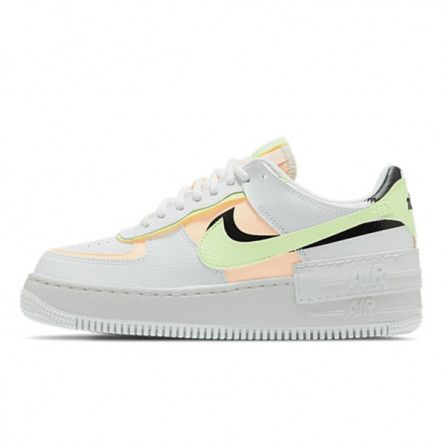 Air Force 1 Shadow Summit White Barely Volt Crimson Tint | Nike ...
