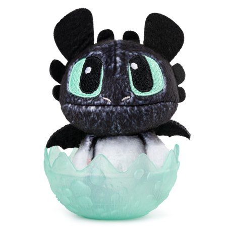Dreamworks Dragons Baby Nightlight 3 Inch Plush Cute Collectible Plush Dragon In Egg For Kids Aged 4 A Baby Night Light Collectable Plush Dreamworks Dragons