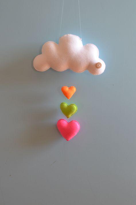 Neon cloud love by Down that little lane # Cloud # Nuage # Diy