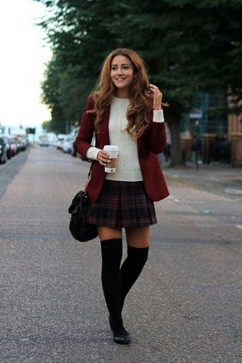 Preppy school girl, preppy outfits for school, preppy fall outfits, school