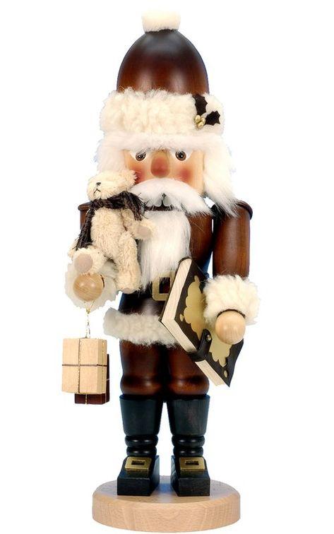 Christian Ulbricht Santa with Teddy Nutcracker