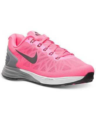 e975b734060c Nike Women s LunarGlide 6 Running Sneakers from Finish Line