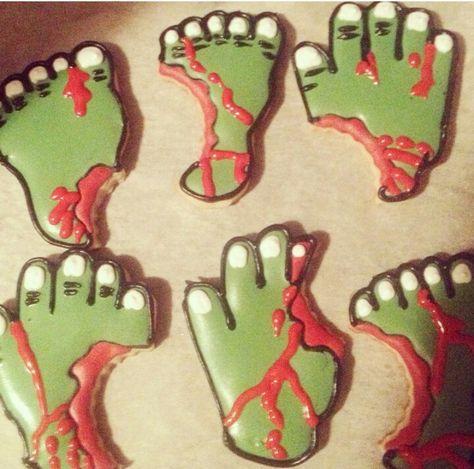 Zombies Cookies, sugarlustpastryshop on Instagram