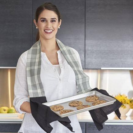 Kitchen Boa - Black and White Patterned Towel | Kitchen ...