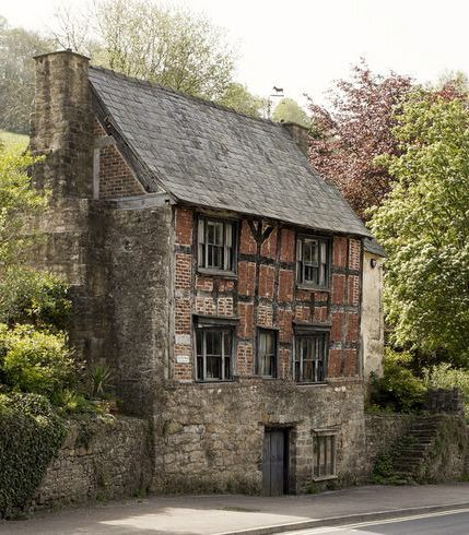 The Old House, 16th century, in Lower Lydbrook, Forest of Dean, Gloucestershire, England