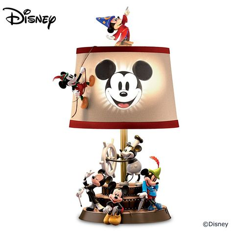 7ff5f119ce2d9 126397001 - Disney Mickey Mouse Through The Years Table Lamp