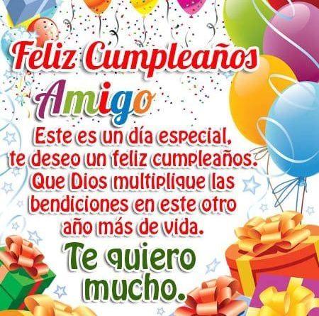 Las más Asombrosas Imágenes con Frases de Feliz cumpleaños para un Amigo | Frases de feliz cumpleaños, Feliz cumpleaños, Cumpleaños amiga