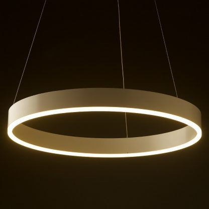 600mm Led Circle Pendant Circle Light Light Fixtures Ceiling Mounted Lights