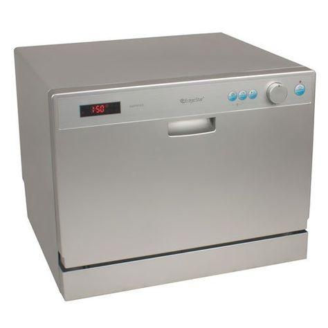 Farberware Professional Countertop Portable Dishwasher In White