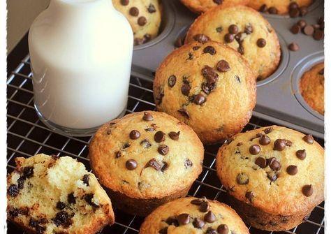 Resep Best Vanilla Chocochips Muffin Ever With Buttermilk Oleh Tintin Rayner Resep Resep Resep Biskuit Makanan Dan Minuman