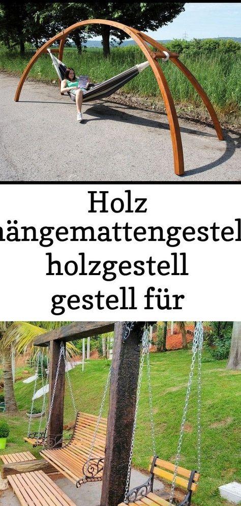 Holz Hangemattengestell Holzgestell Gestell Fur Hangematte Hmg 350