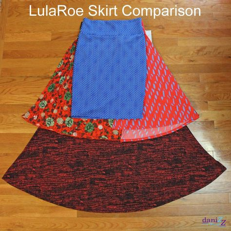 LulaRoe Part Skirts - different ways to style Azure, Cassie, Jill, Lola & Maxi