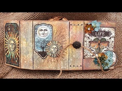 Wrapped Journal By Eileen Hull Designs By Sizzix Video Flip Through