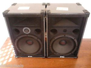 TOA 380SE Loud Speakers Band DJ Type 1 pair,  $399.00