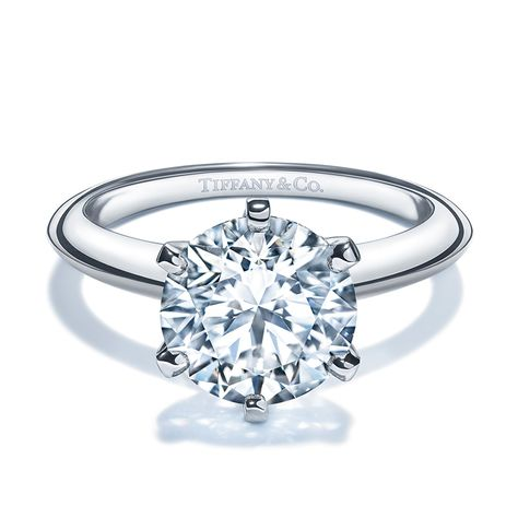 The Tiffany® Setting Engagement Ring in Platinum    3   Pinterest ... c329e99a241