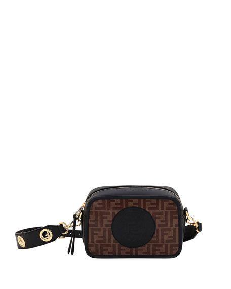 b010d02a Fendi FendiCam FF Canvas Crossbody Camera Bag in 2019   Lavish ...
