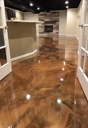 Fabulous Epoxy Floors 26 In Home Design Ideas With Epoxy Floors Kellerumbau Polierter Beton 3d Bodenbelag