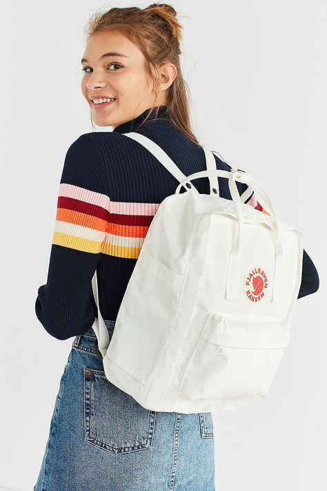Urban Outfitters Fjallraven X Uo Kanken Backpack - White One Size - white fjallraven kanken -