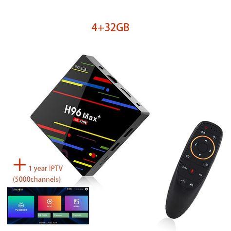 L8STAR A5X Max 4GB RAM 32GB ROM Smart TV BOX Android 9 0