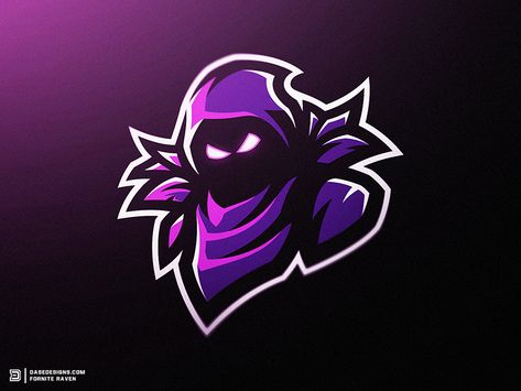 """Fortnite Raven Mascot Logo"" - Whats up guys, lately I've been loving"
