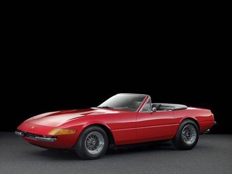 Rare Factory Ferrari Daytona Spider To Be Auctioned Off Ferrari