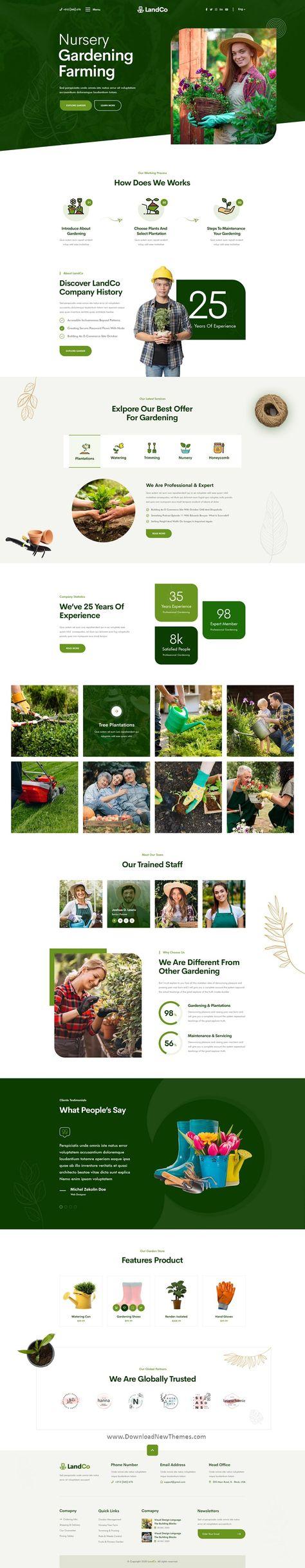 Garden & Landscaping Premium Template