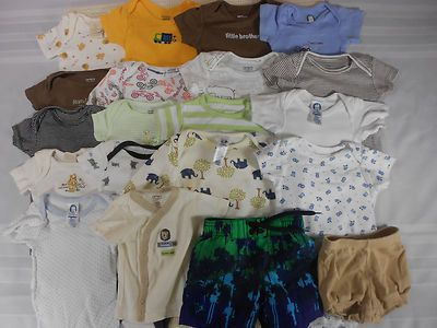 cff9ce74f 20 Infant Newborn Baby Boys Clothes Outfit Size 0-3 Months Carter ...
