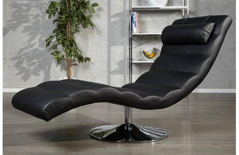 Relax Fauteuil Design.Fauteuil Design Relax Noir Clara Fauteuil Design Mobilier De